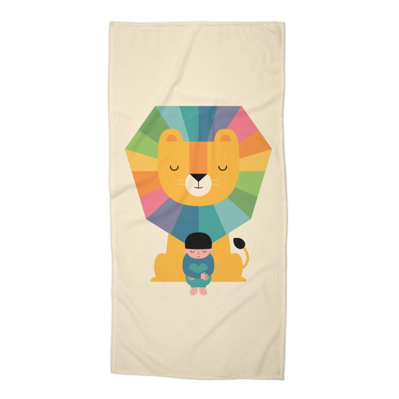 Courage Accessories Beach Towel by andywestface's Artist Shop