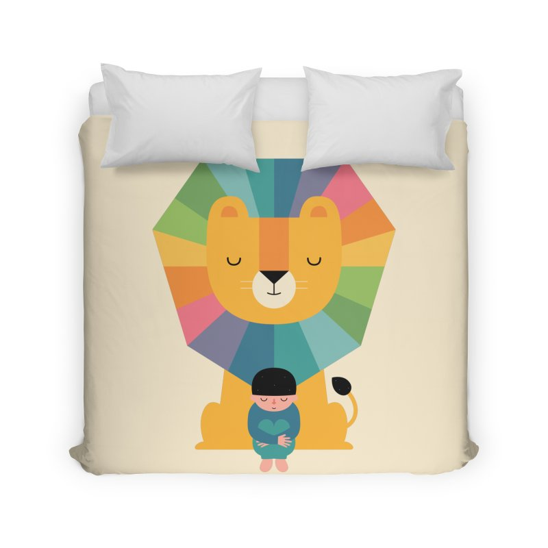 Courage Home Duvet by andywestface's Artist Shop