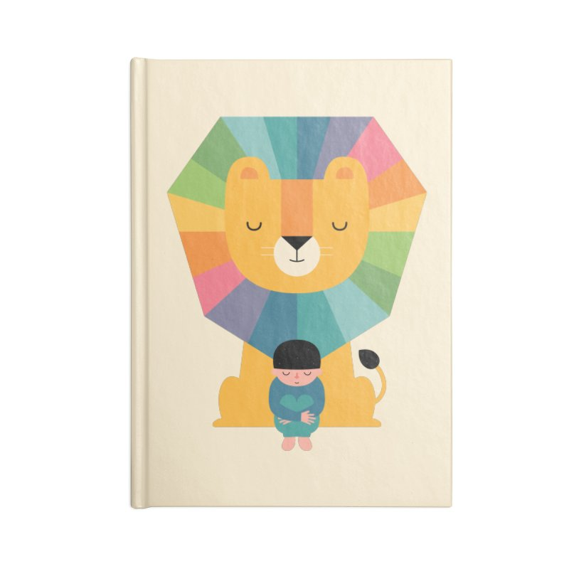 Courage Accessories Notebook by andywestface's Artist Shop