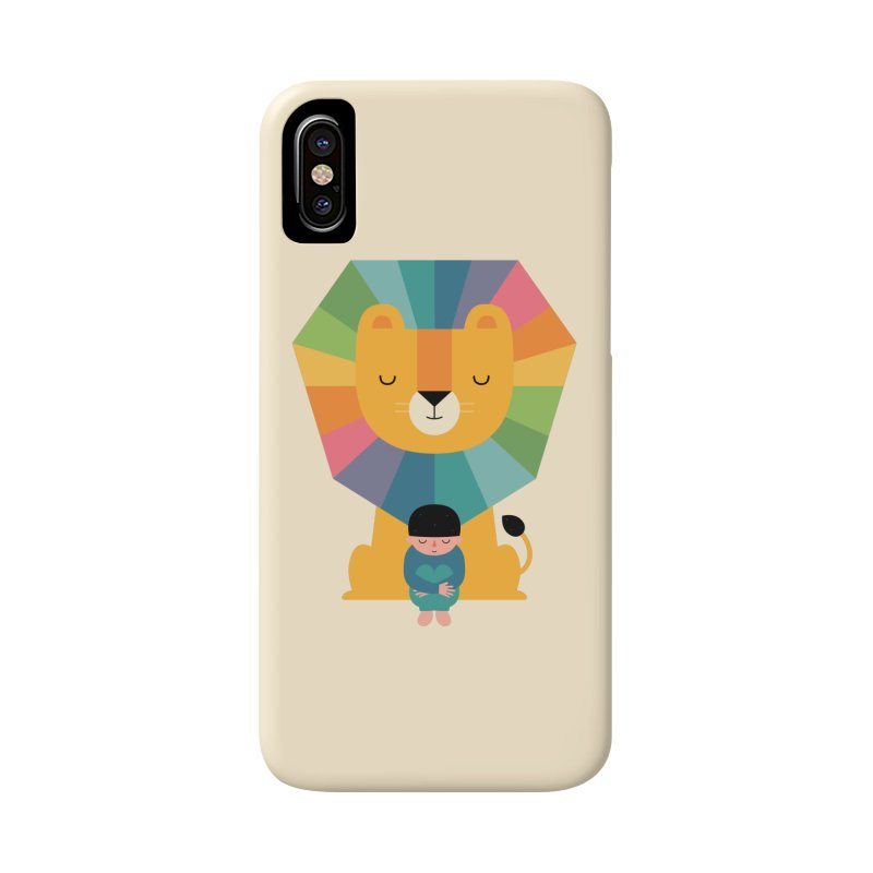 Courage Accessories Phone Case by andywestface's Artist Shop