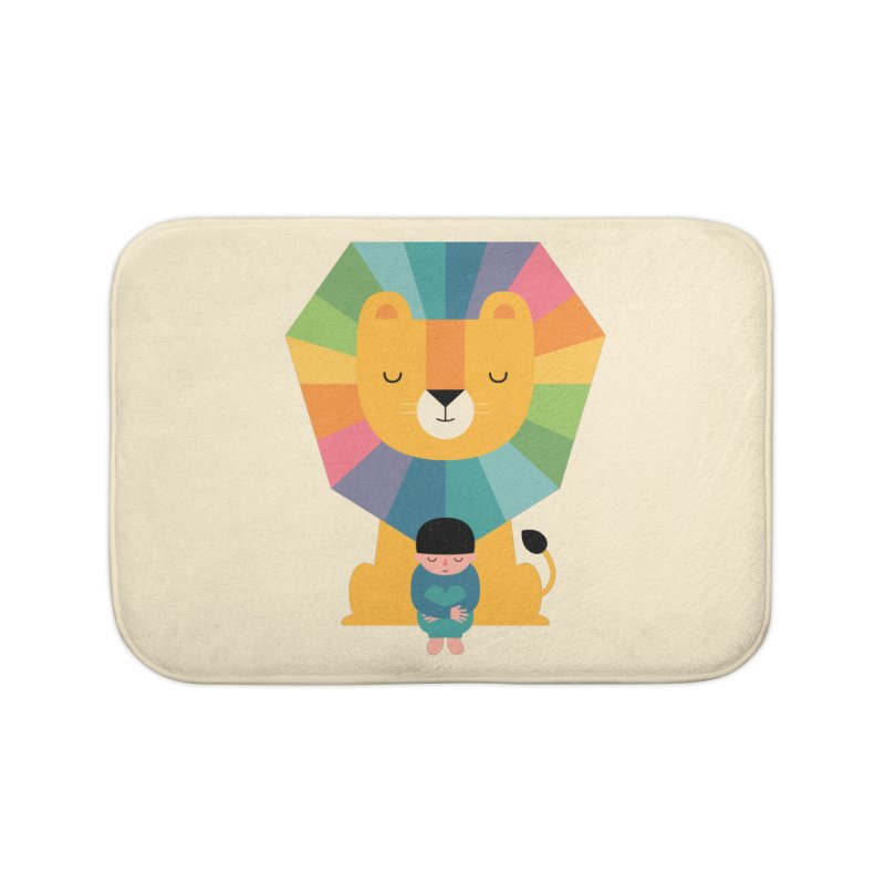 Courage Home Bath Mat by andywestface's Artist Shop