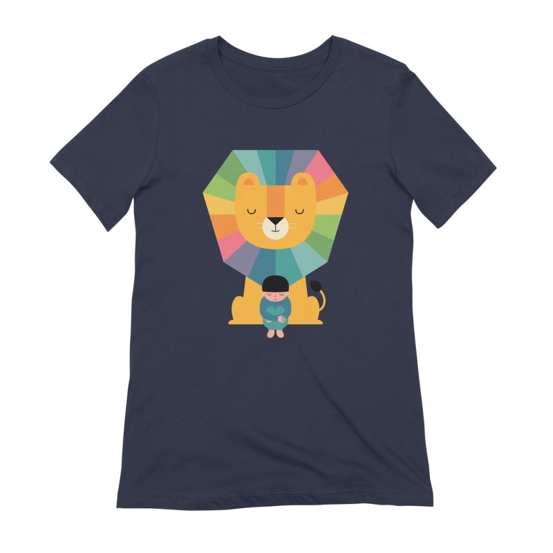 Courage Women's Extra Soft T-Shirt by andywestface's Artist Shop