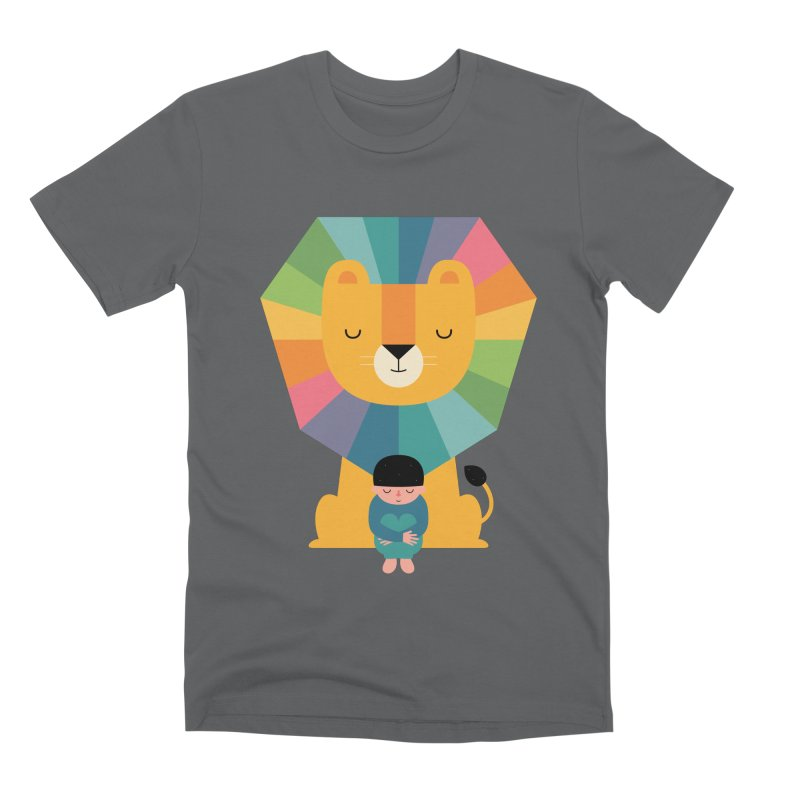 Courage Men's Premium T-Shirt by andywestface's Artist Shop