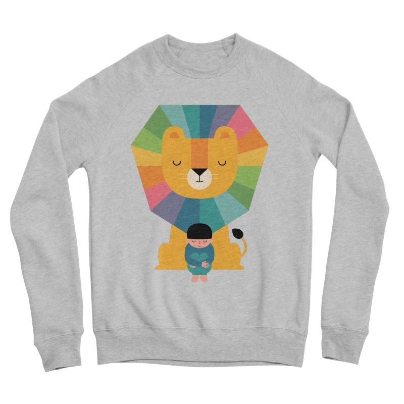 Courage Women's Sponge Fleece Sweatshirt by andywestface's Artist Shop