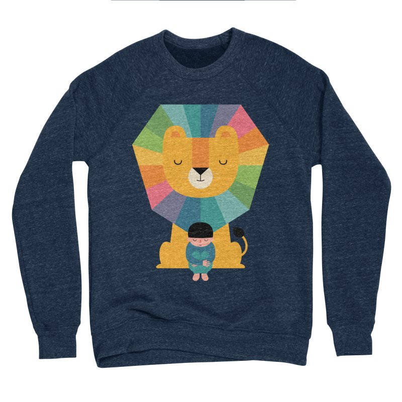 Courage Men's Sponge Fleece Sweatshirt by andywestface's Artist Shop