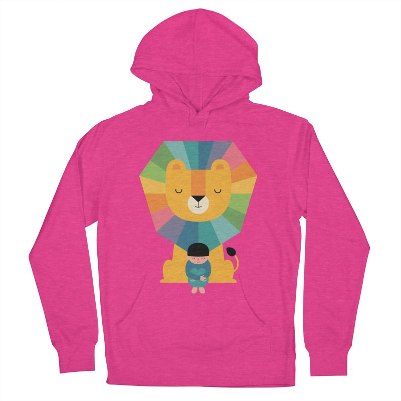 Courage Women's French Terry Pullover Hoody by andywestface's Artist Shop