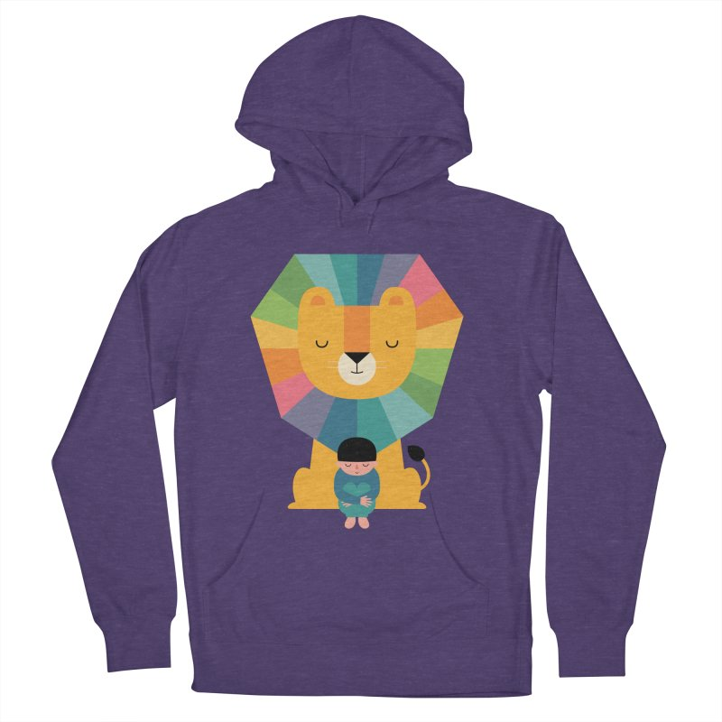 Courage Men's French Terry Pullover Hoody by andywestface's Artist Shop