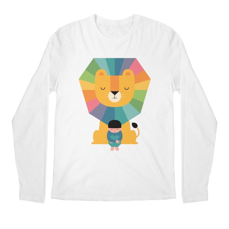 Courage Men's Regular Longsleeve T-Shirt by andywestface's Artist Shop