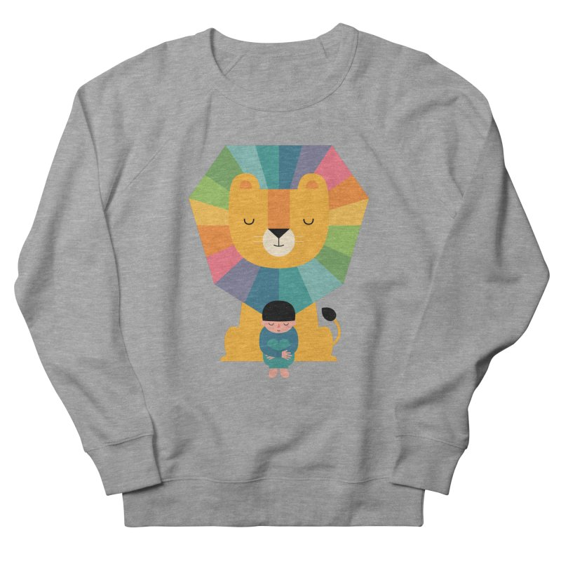 Courage Women's French Terry Sweatshirt by andywestface's Artist Shop
