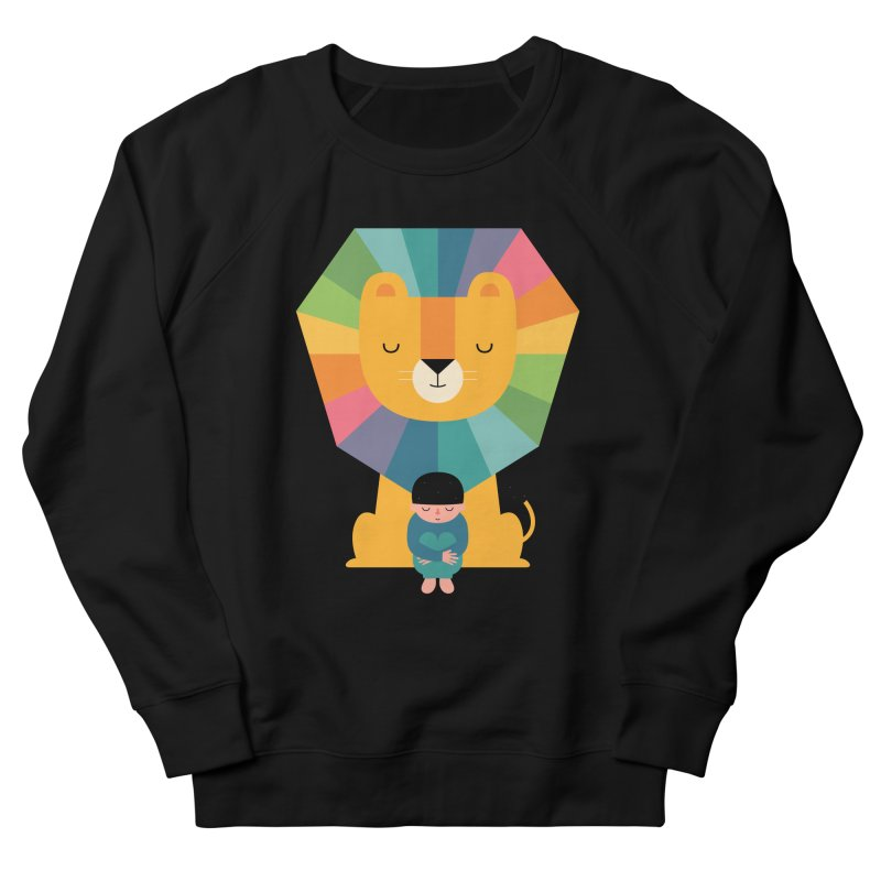 Courage Men's French Terry Sweatshirt by andywestface's Artist Shop