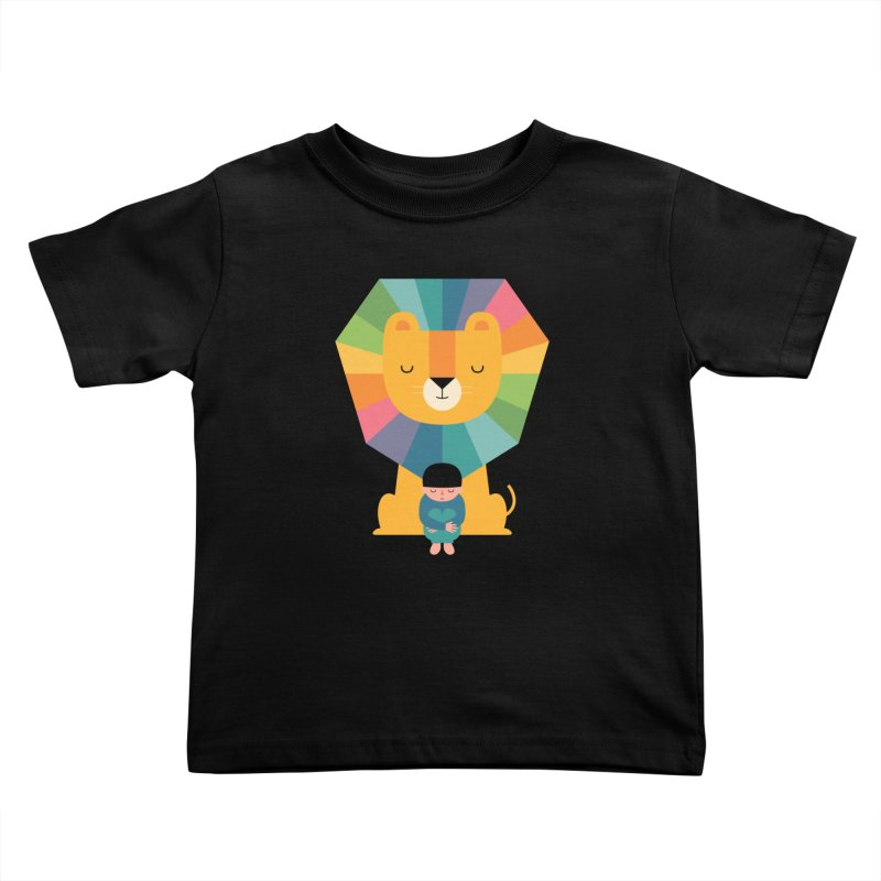 Courage Kids Toddler T-Shirt by andywestface's Artist Shop