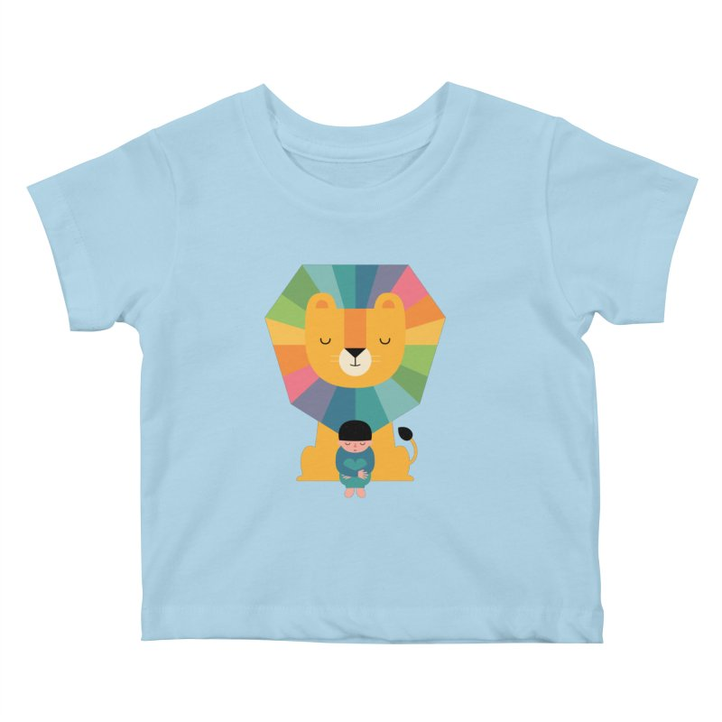 Courage Kids Baby T-Shirt by andywestface's Artist Shop