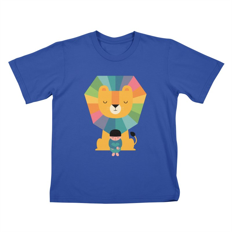 Courage Kids T-Shirt by andywestface's Artist Shop