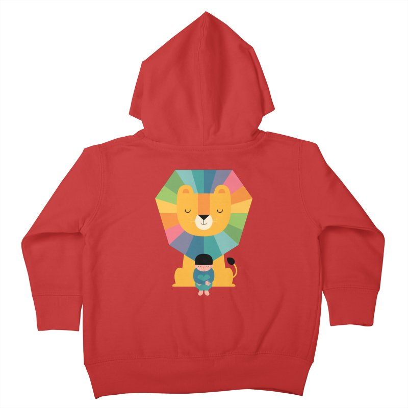 Courage Kids Toddler Zip-Up Hoody by andywestface's Artist Shop