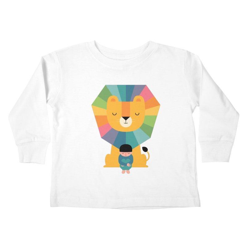 Courage Kids Toddler Longsleeve T-Shirt by andywestface's Artist Shop