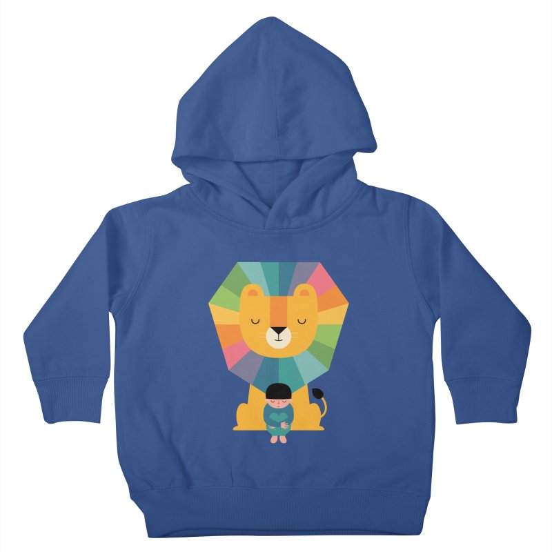 Courage Kids Toddler Pullover Hoody by andywestface's Artist Shop