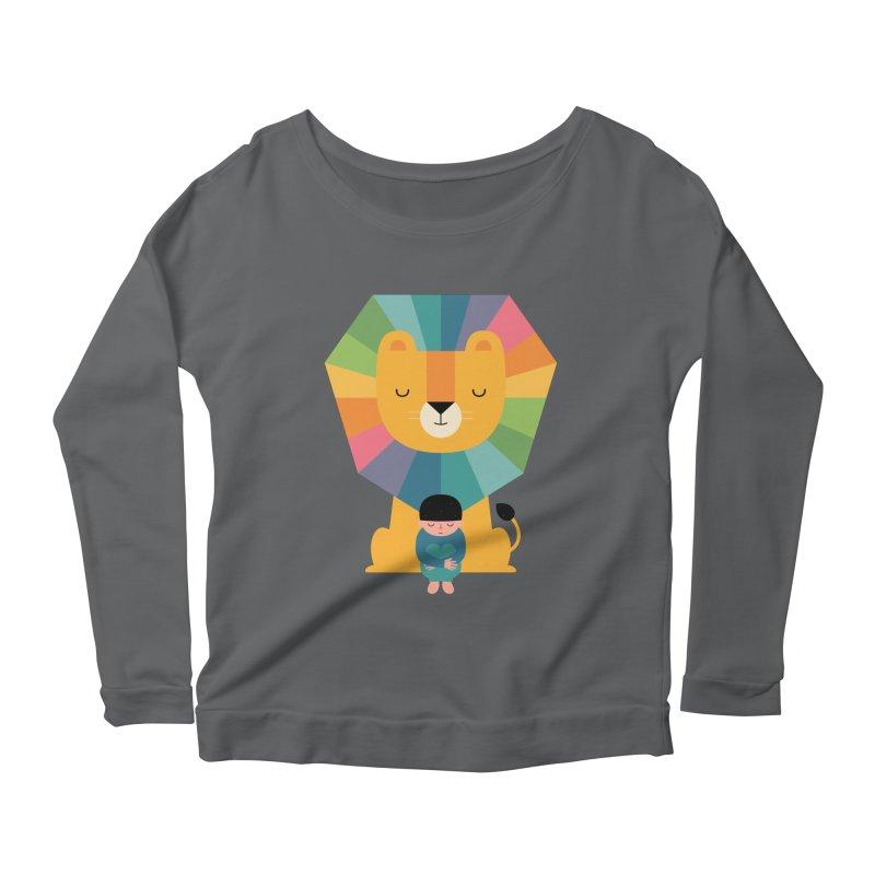 Courage Women's Scoop Neck Longsleeve T-Shirt by andywestface's Artist Shop