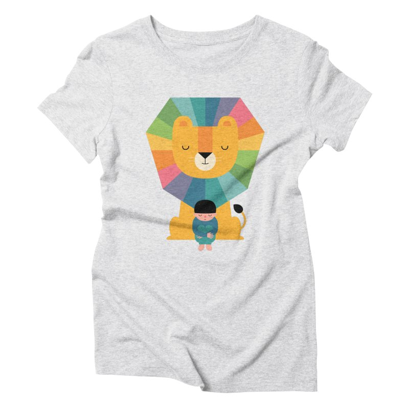 Courage Women's Triblend T-Shirt by andywestface's Artist Shop