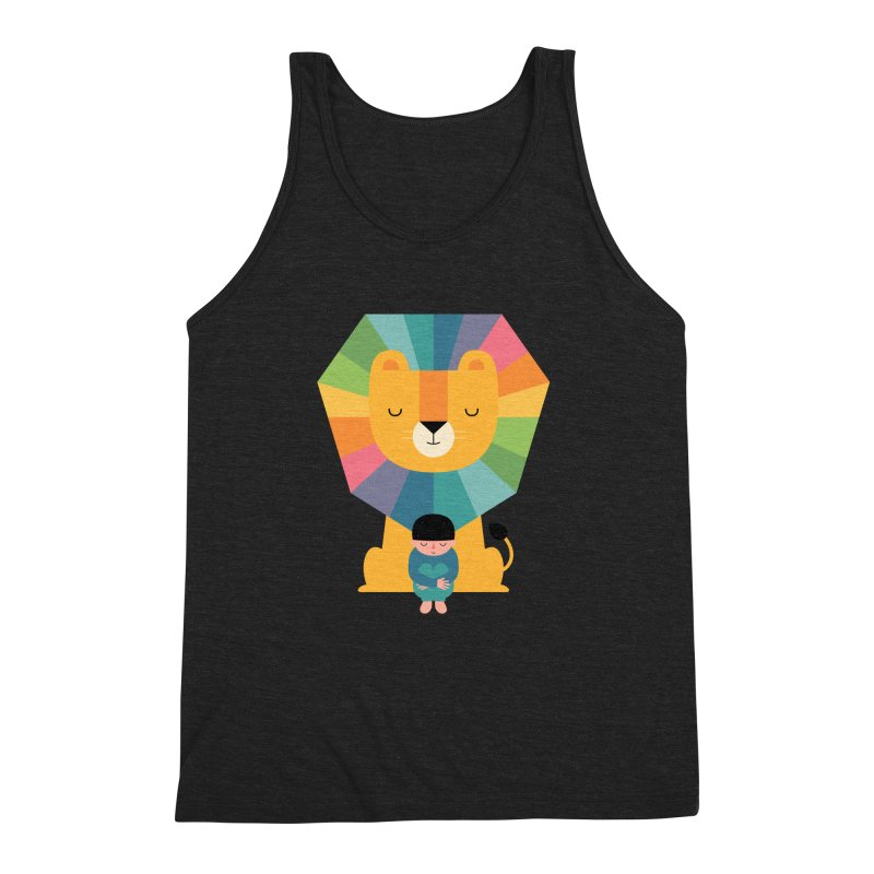 Courage Men's Triblend Tank by andywestface's Artist Shop