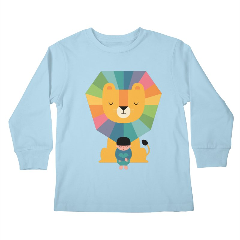 Courage Kids Longsleeve T-Shirt by andywestface's Artist Shop