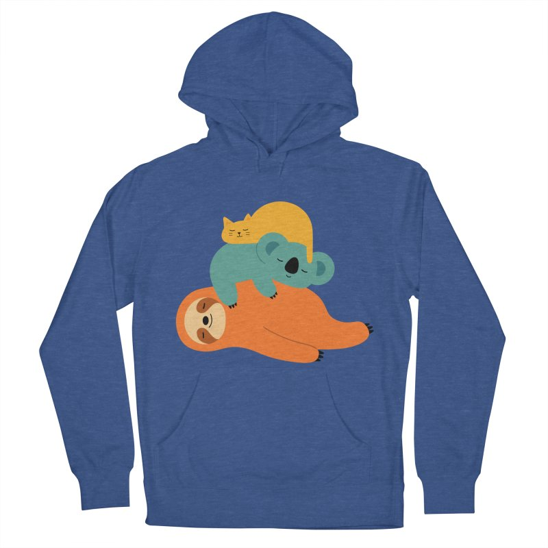 Being Lazy Women's Pullover Hoody by andywestface's Artist Shop