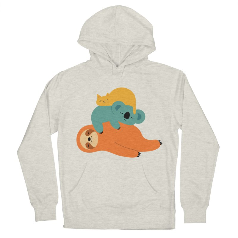 Being Lazy Men's Pullover Hoody by andywestface's Artist Shop