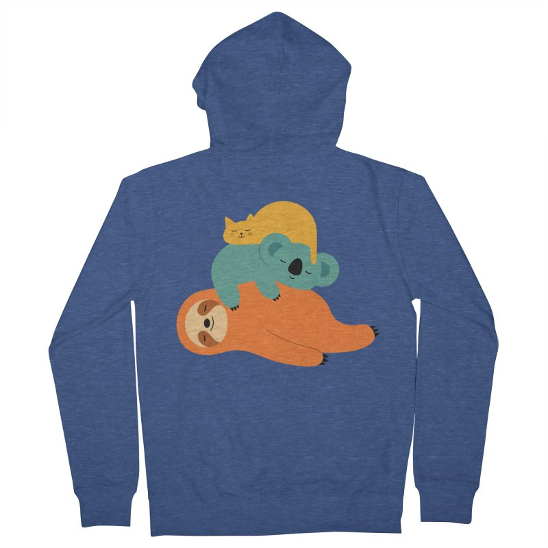 Being Lazy Women's Zip-Up Hoody by andywestface's Artist Shop