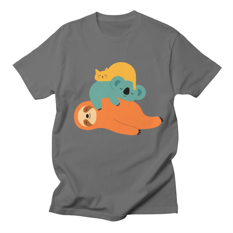 Being Lazy Women's Unisex T-Shirt by andywestface's Artist Shop