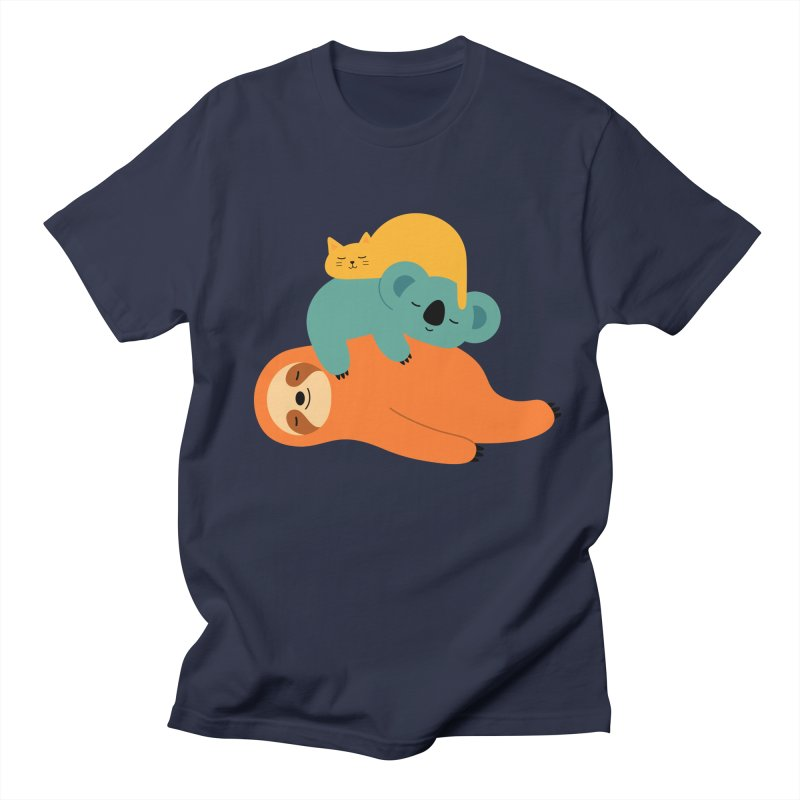 Being Lazy Men's T-Shirt by andywestface's Artist Shop