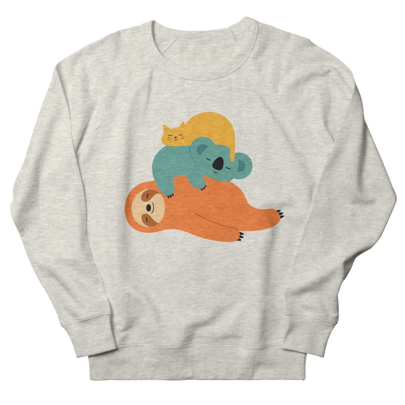 Being Lazy Men's Sweatshirt by andywestface's Artist Shop
