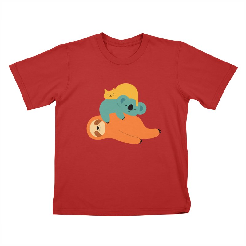 Being Lazy Kids T-shirt by andywestface's Artist Shop