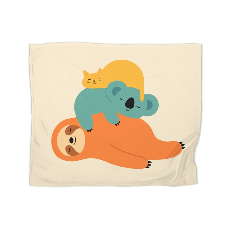 Being Lazy Home Blanket by andywestface's Artist Shop