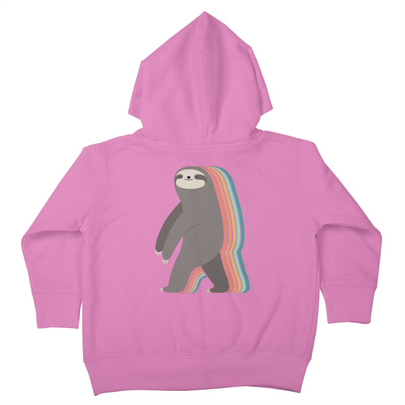 Sleepwalker Kids Toddler Zip-Up Hoody by andywestface's Artist Shop