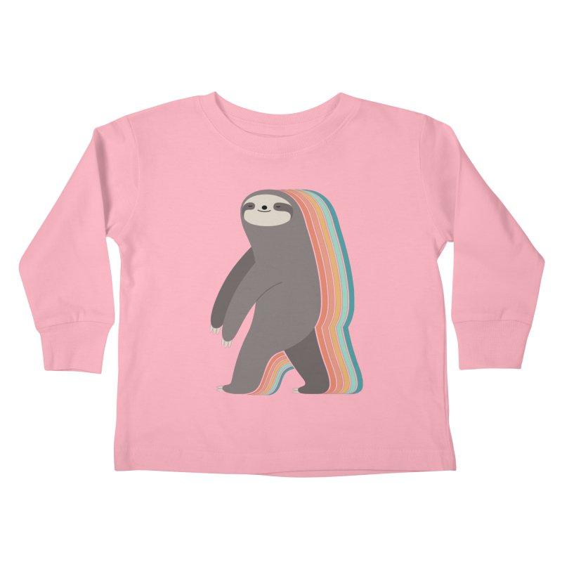 Sleepwalker Kids Toddler Longsleeve T-Shirt by andywestface's Artist Shop