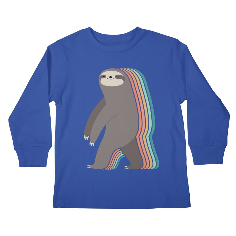 Sleepwalker Kids Longsleeve T-Shirt by andywestface's Artist Shop