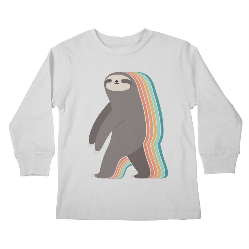 Sleepwalker Kids Longsleeve T-Shirt by andywestface's Artist Shop