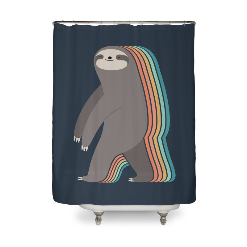 Sleepwalker Home Shower Curtain by andywestface's Artist Shop