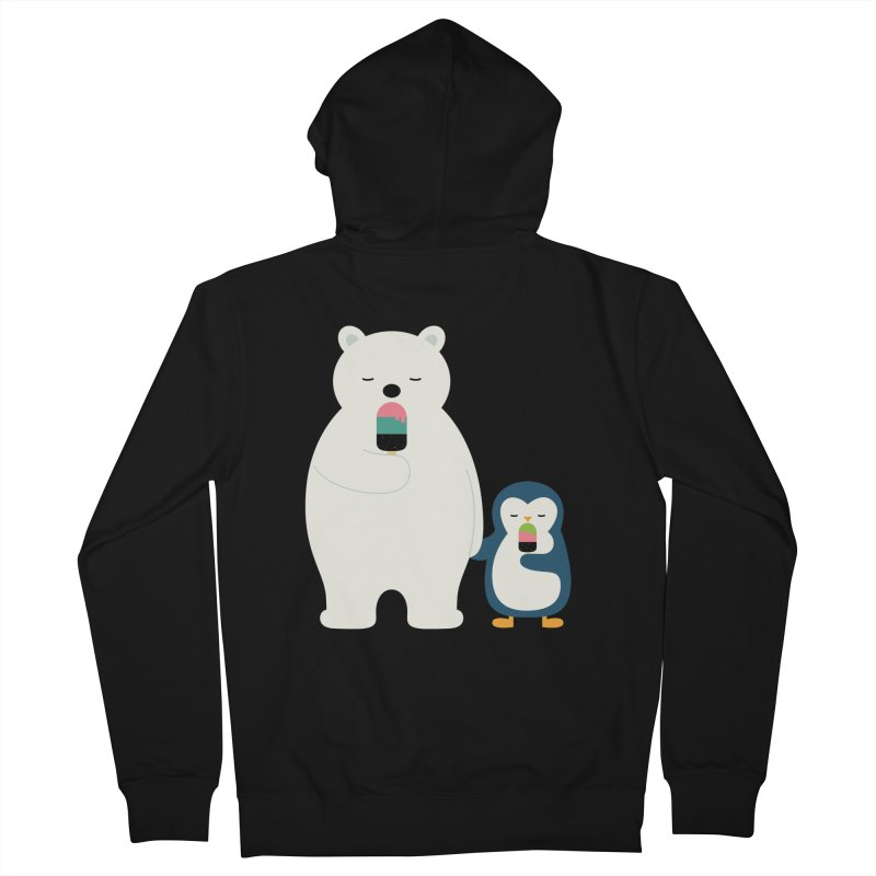 Stay Cool Women's Zip-Up Hoody by andywestface's Artist Shop