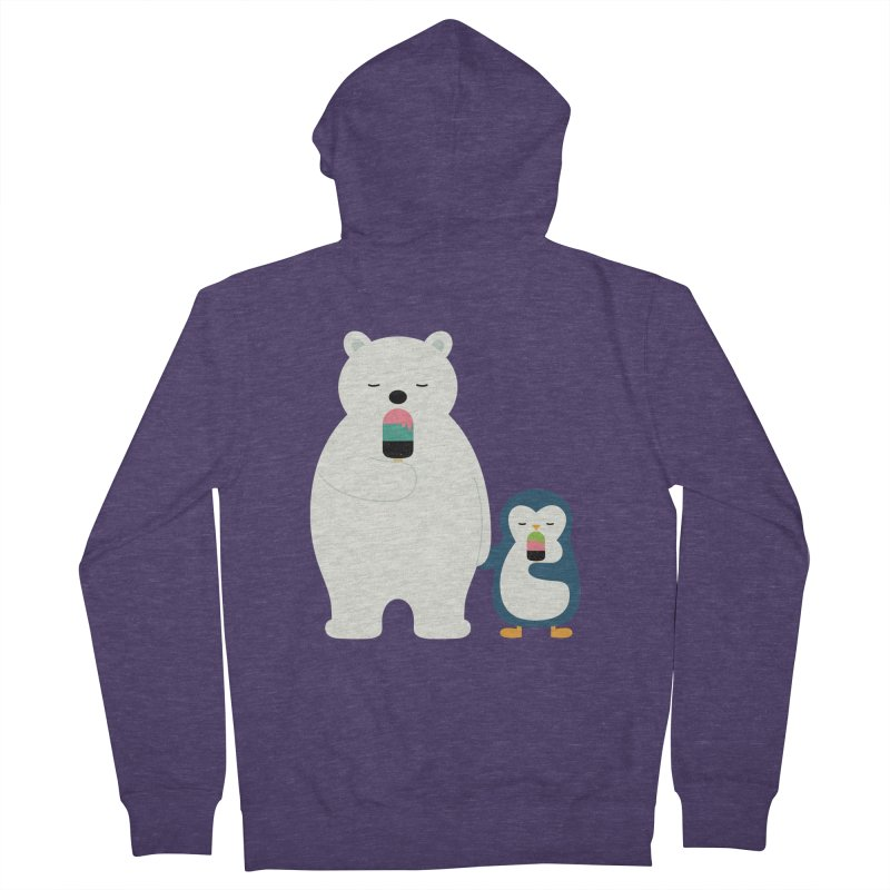 Stay Cool Men's Zip-Up Hoody by andywestface's Artist Shop