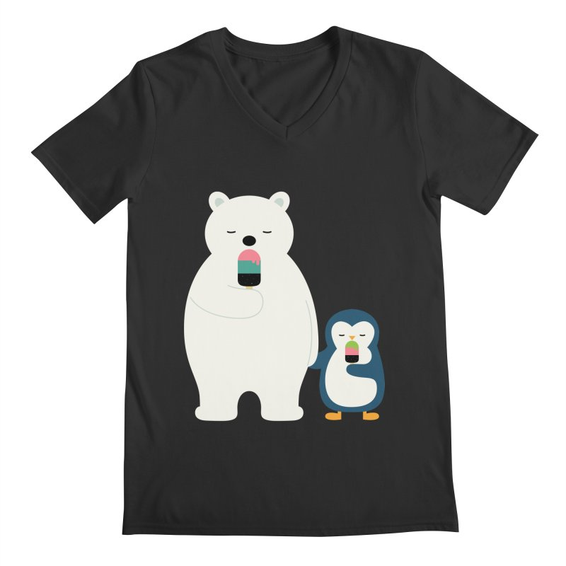 Stay Cool Men's V-Neck by andywestface's Artist Shop