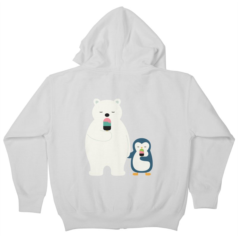 Stay Cool Kids Zip-Up Hoody by andywestface's Artist Shop