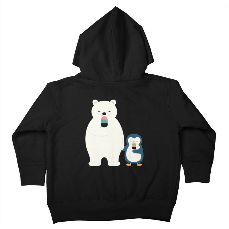 Stay Cool Kids Toddler Zip-Up Hoody by andywestface's Artist Shop