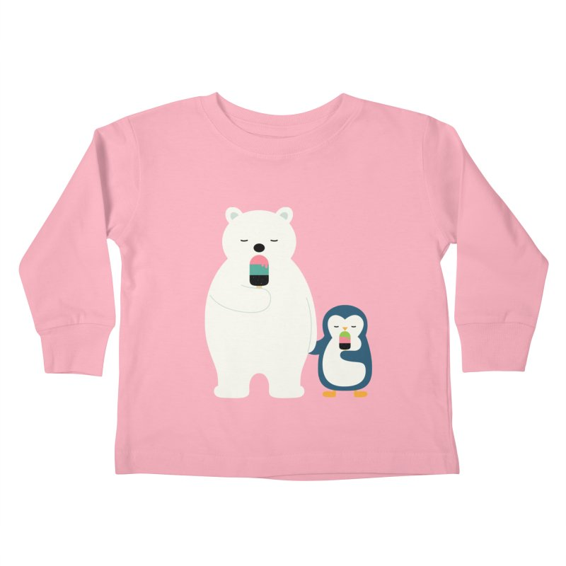 Stay Cool Kids Toddler Longsleeve T-Shirt by andywestface's Artist Shop