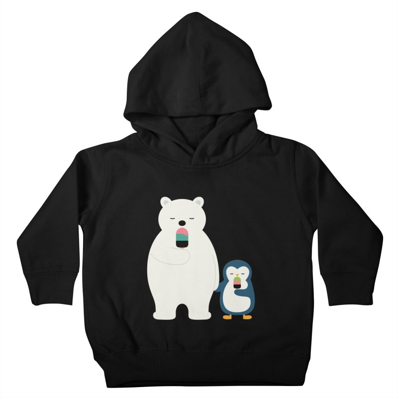 Stay Cool Kids Toddler Pullover Hoody by andywestface's Artist Shop