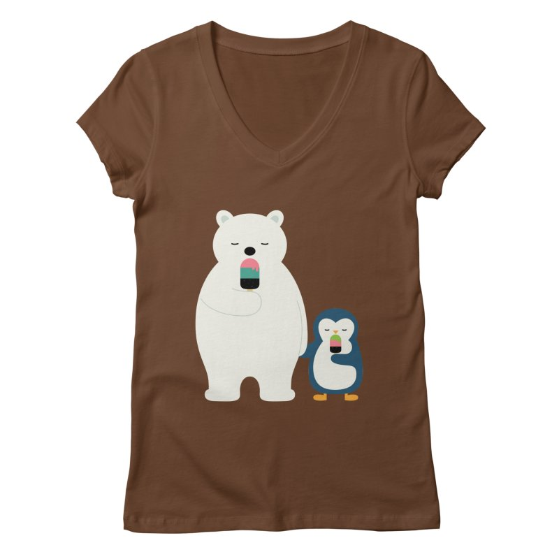 Stay Cool Women's V-Neck by andywestface's Artist Shop