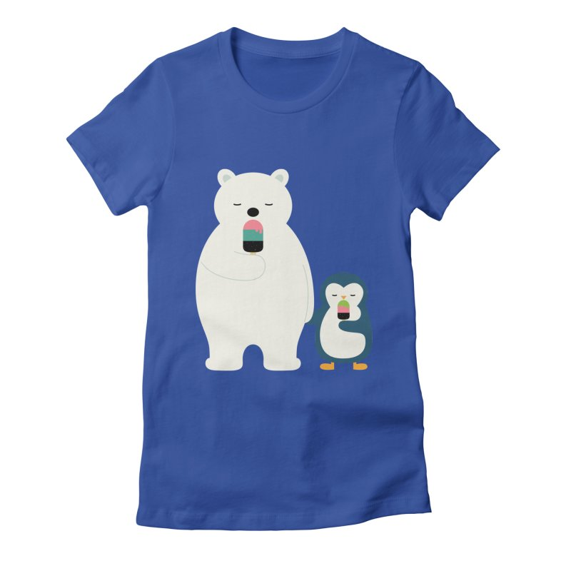 Stay Cool Women's Fitted T-Shirt by andywestface's Artist Shop