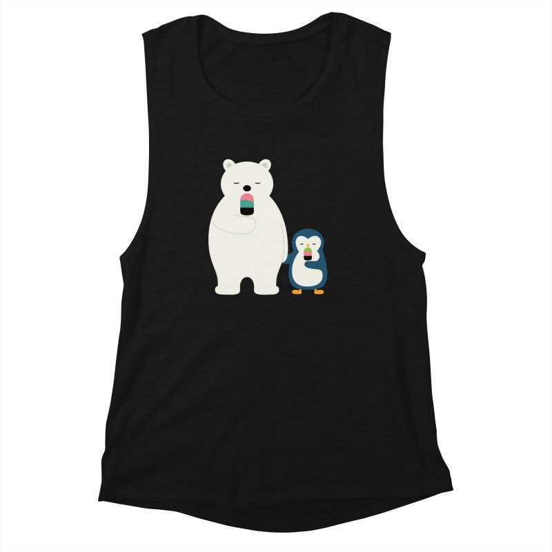 Stay Cool Women's Muscle Tank by andywestface's Artist Shop