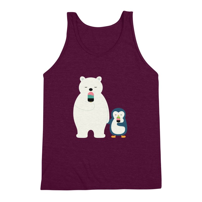 Stay Cool Men's Triblend Tank by andywestface's Artist Shop