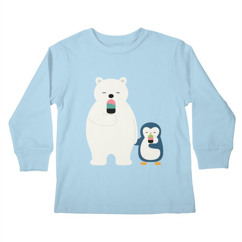 Stay Cool Kids Longsleeve T-Shirt by andywestface's Artist Shop