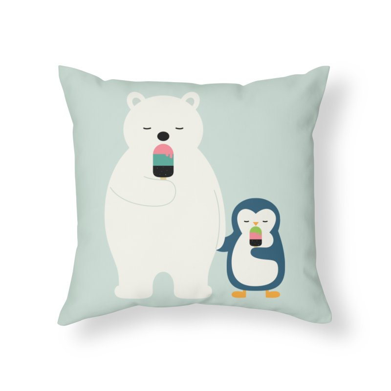 Stay Cool Home Throw Pillow by andywestface's Artist Shop